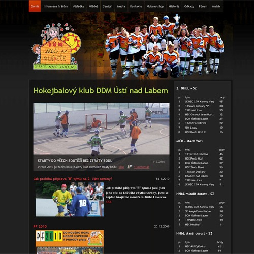 sport websites by infonia